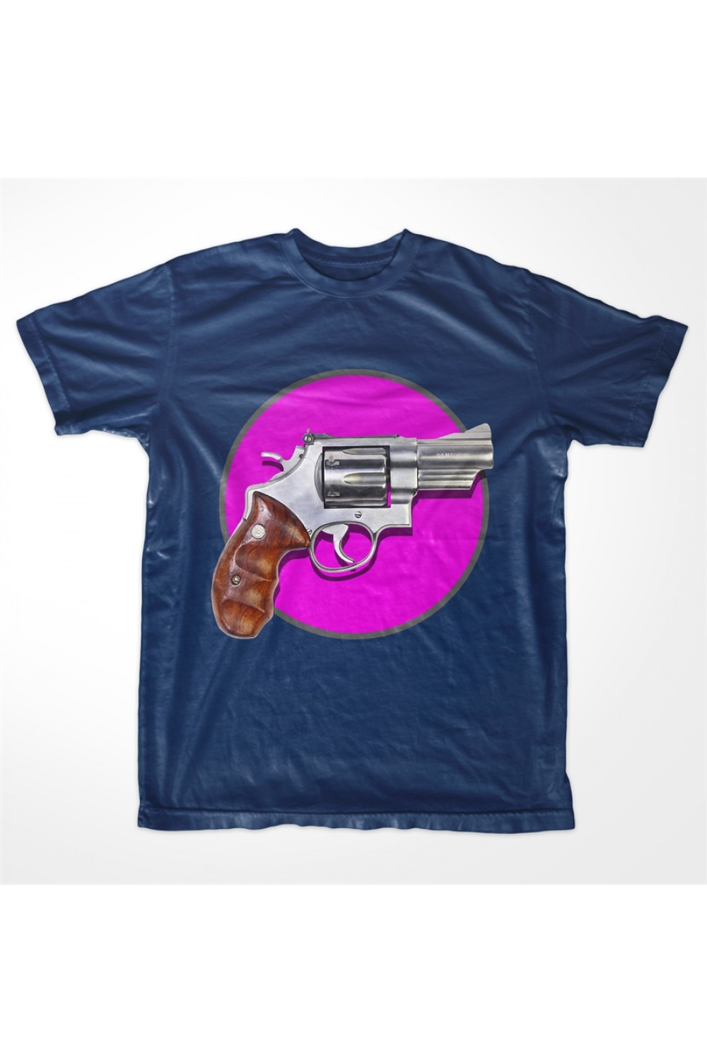 KABOX Men Printed T shirt Gun